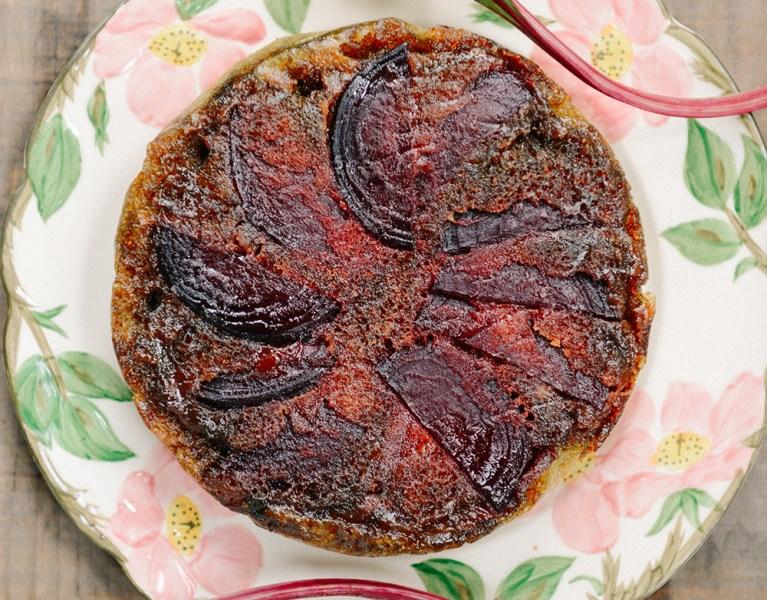 The Urban Farmer's Dirty Thirty   Part II: Beet Upside Down Cake