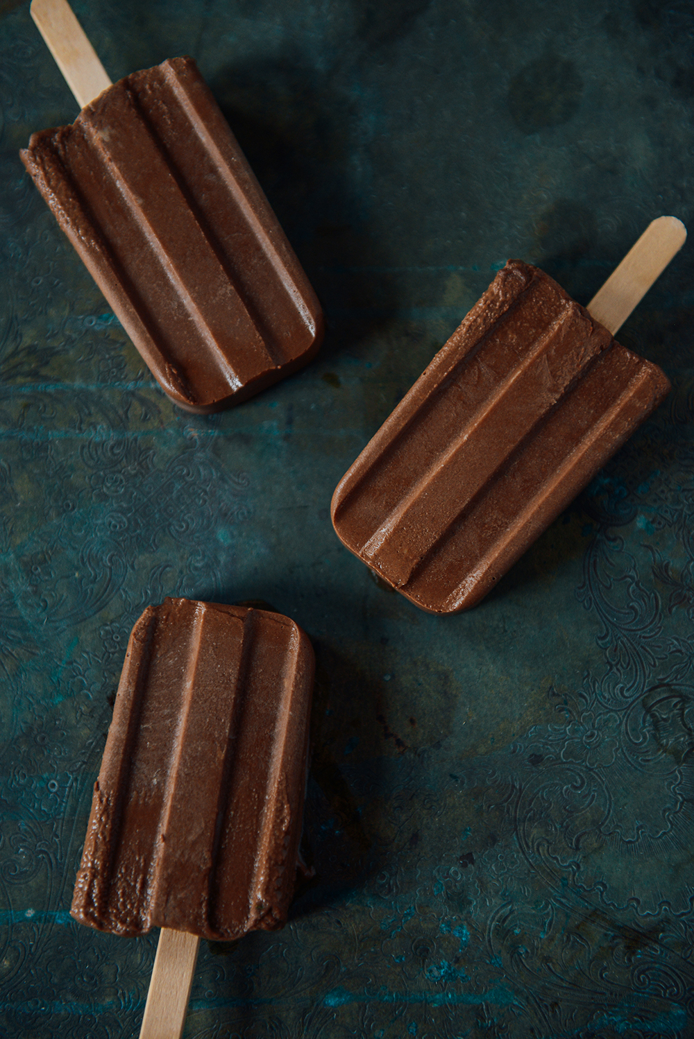 Avocado Fudgesicles & @Boydandblair Semifreddo (Vegan) // www.WithTheGrains.com
