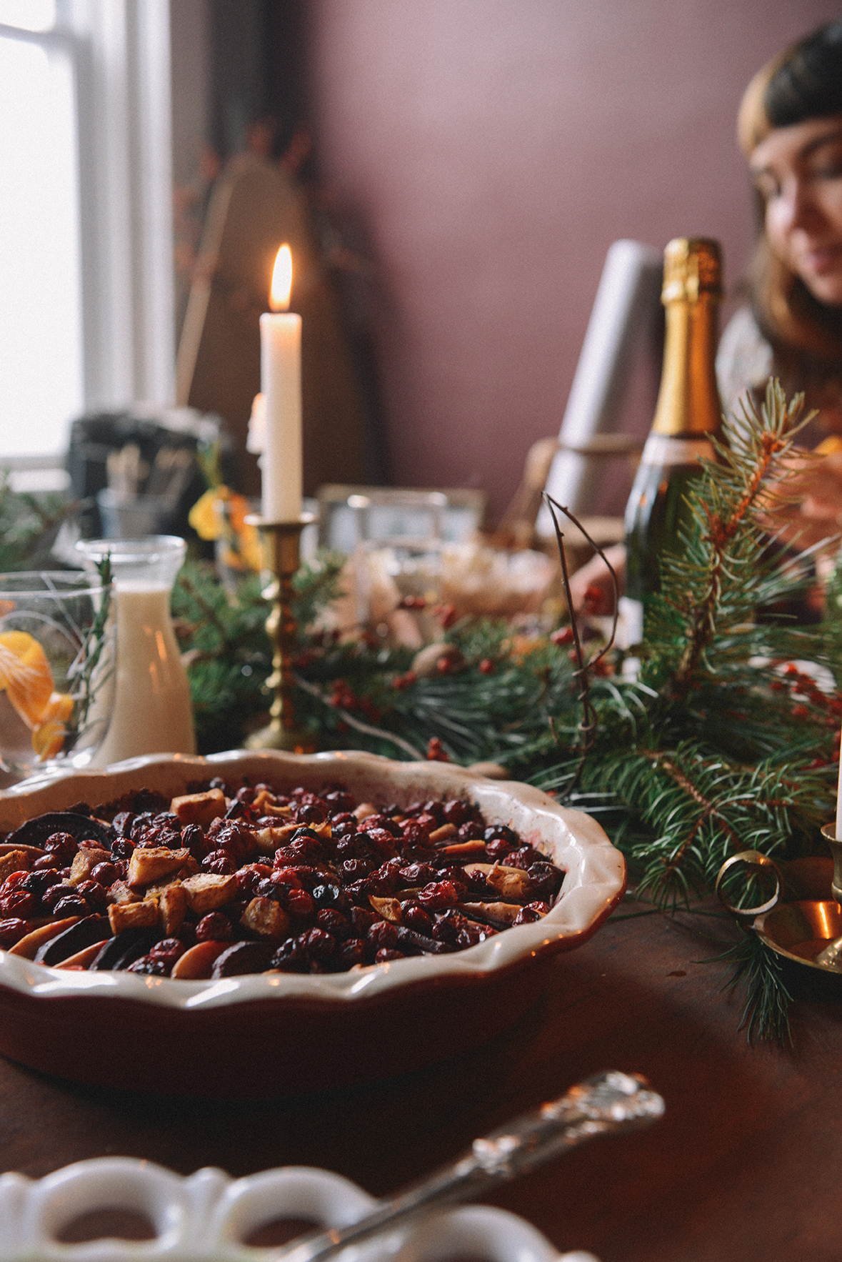Wintry Brunch // www.WithTheGrains.com