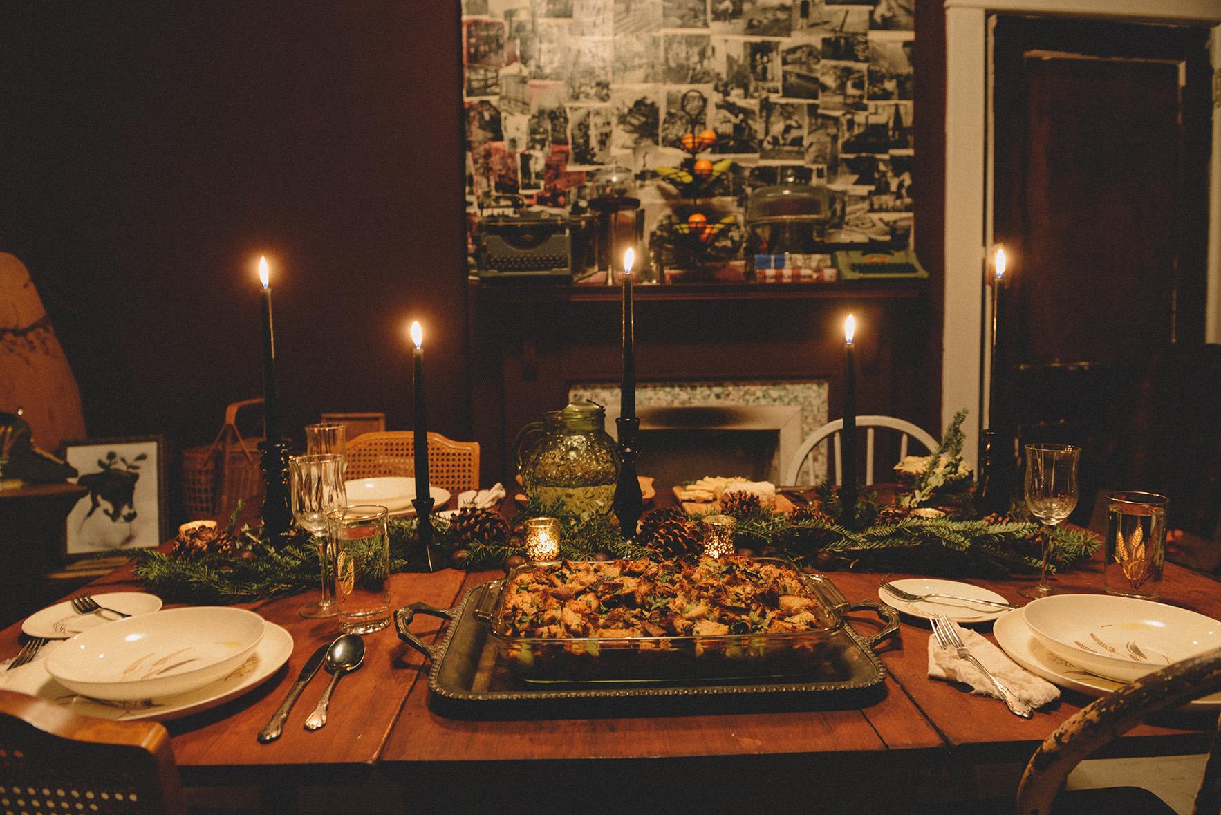 A Winter Meal & A Chestnut Menu