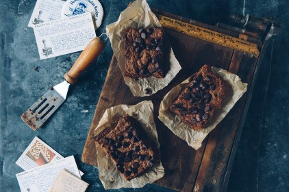 Chocolate Ganache Brownies by With The Grains 01