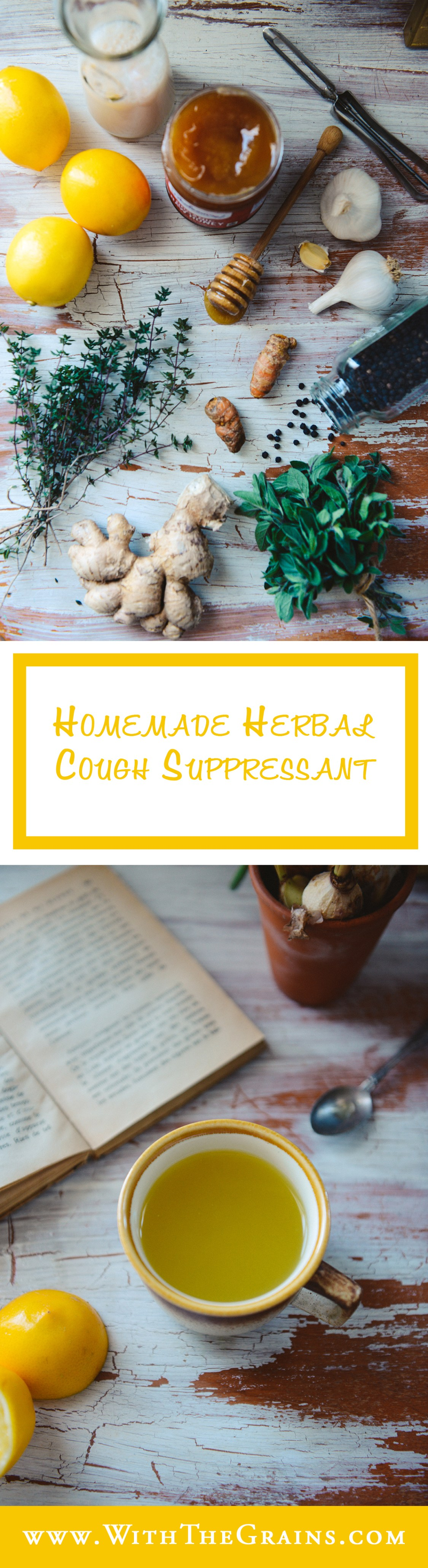 Herbal Cough Suppressant by With The Grains