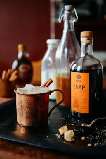 Chai Tea Concentrate for Lattes & Cocktails // www.WithTheGrains.com