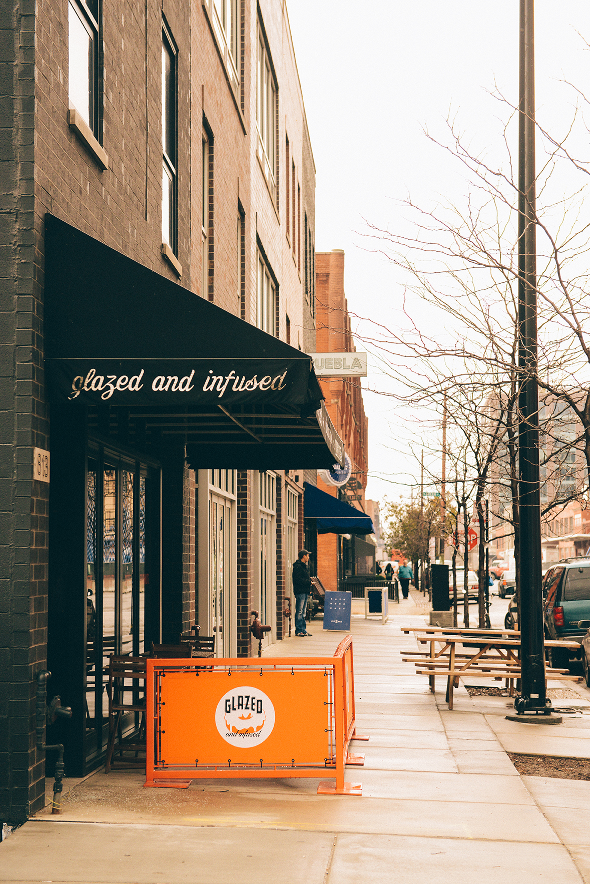 Glazed and Infused Doughnut Shop in the Fullton Market District of Chicago // www.WithTheGrains.com