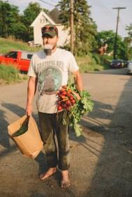 Gluten Free Strawberry & Nectarine Crisp & A Farm Workday // www.WithTheGrains.com