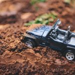 A Gluten Free @Jeep Themed Dark Chocolate Quinoa Cake for a 2nd Birthday