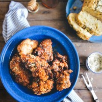 Pickle Brined Fried Chicken with Whole-Grain Batter