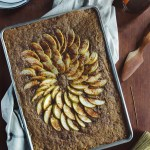 Whole Grain Apple Chai Sheet Cake