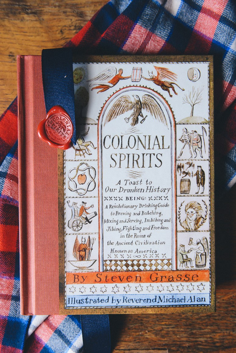 """""""Colonial Spirits"""": A Gift Idea for the Drink Nerd & History Buff In Your Life via @artintheage"""