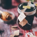 Edible Gift Idea: Local Honey & Winter Tea Sets