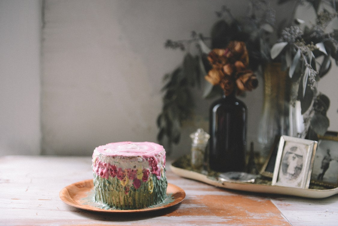 Lemon Lavender Coconut Cake for a Baby's First Birthday (Sugar Free & Gluten Free) // www.WithTheGrains.com