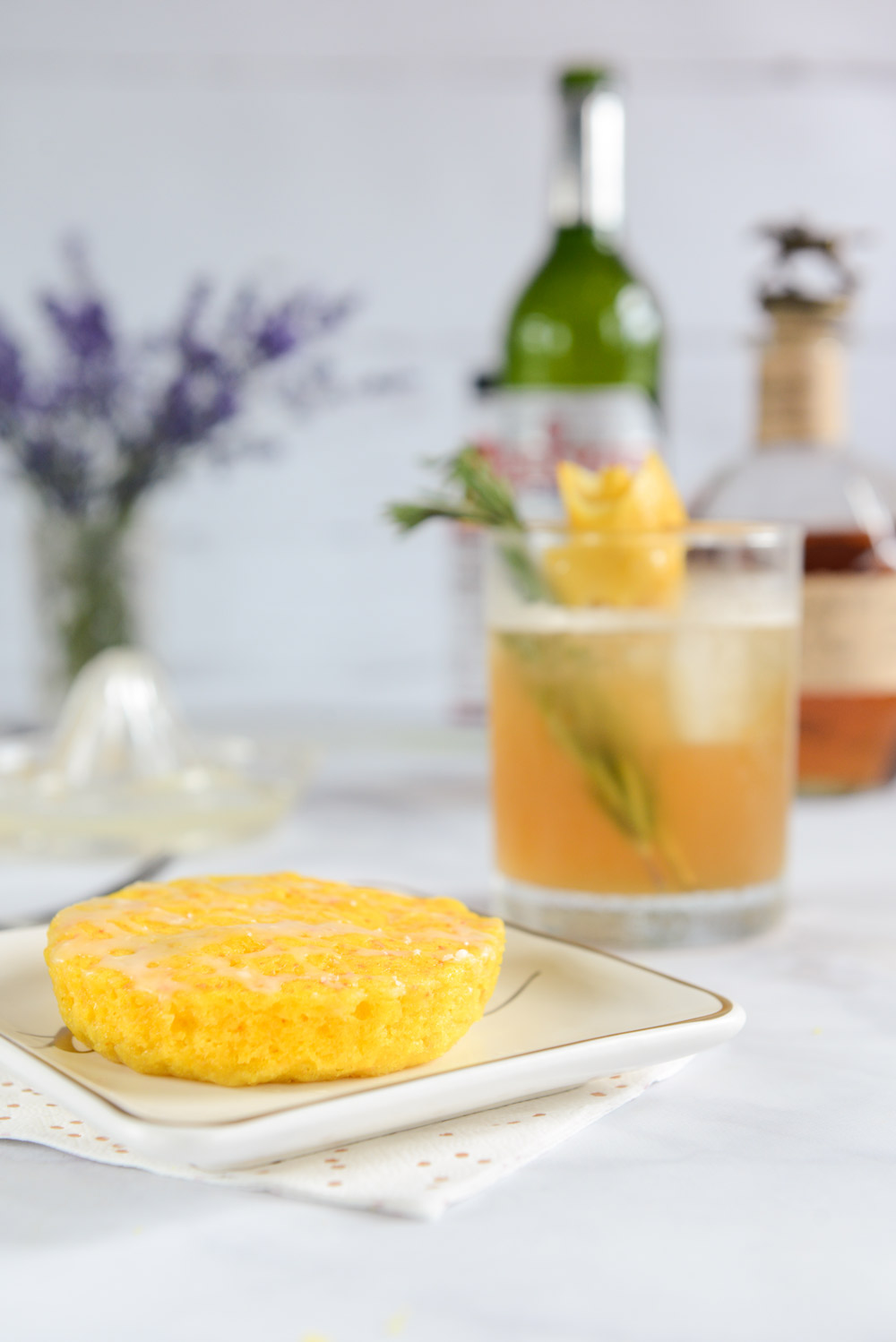 Father's Day Cocktail: A Frosty Sazerac and Cake Pairing // www.WithTheGrains.com