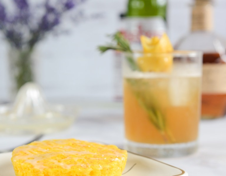 Father's Day Cocktail: Frosty Sazerac and Boozy Cake Pairing