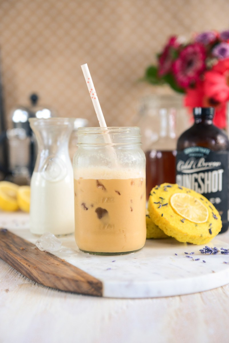 Lavender Simple Syrup for Iced Lattes