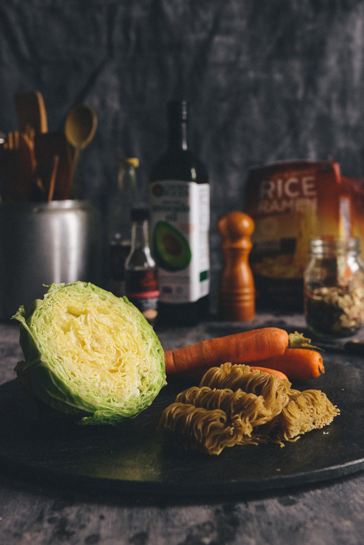 Whole Grain Ramen Noodle Salad // www.WithTheGrains.com