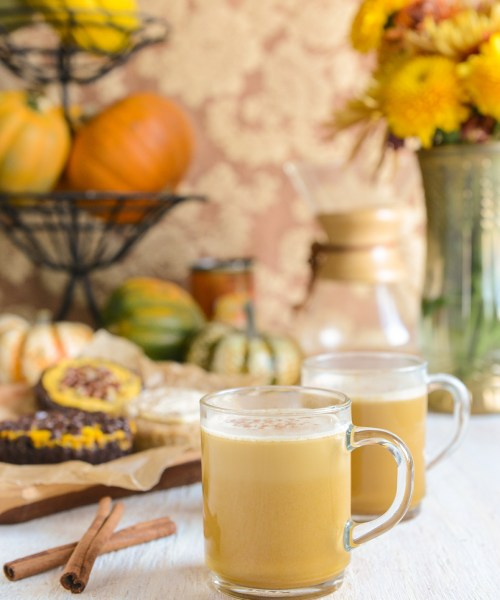 Pumpkin Spice Bulletproof Coffee // www.WithTheGrains.com