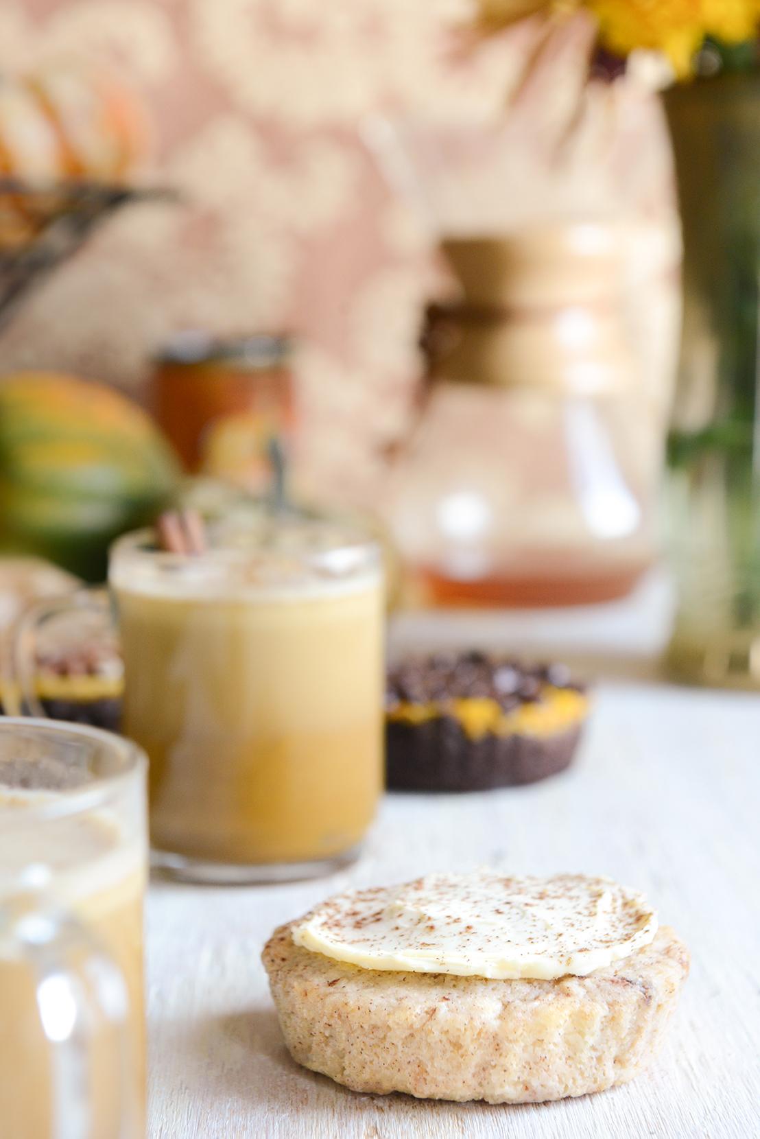 Pumpkin Spice Bulletproof Coffee // www.WithTheGrains.com