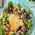 Harvest Salad with Roasted Beets and Butternut Squash