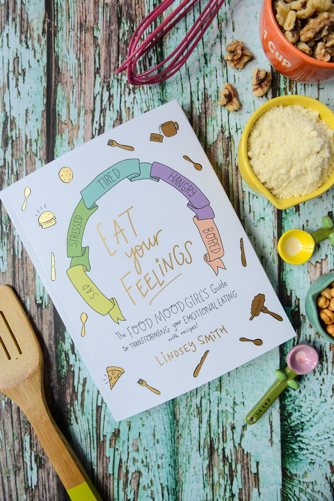 """Eat Your Feelings"" Cookbook Announcement // www.WithTheGrains.com"