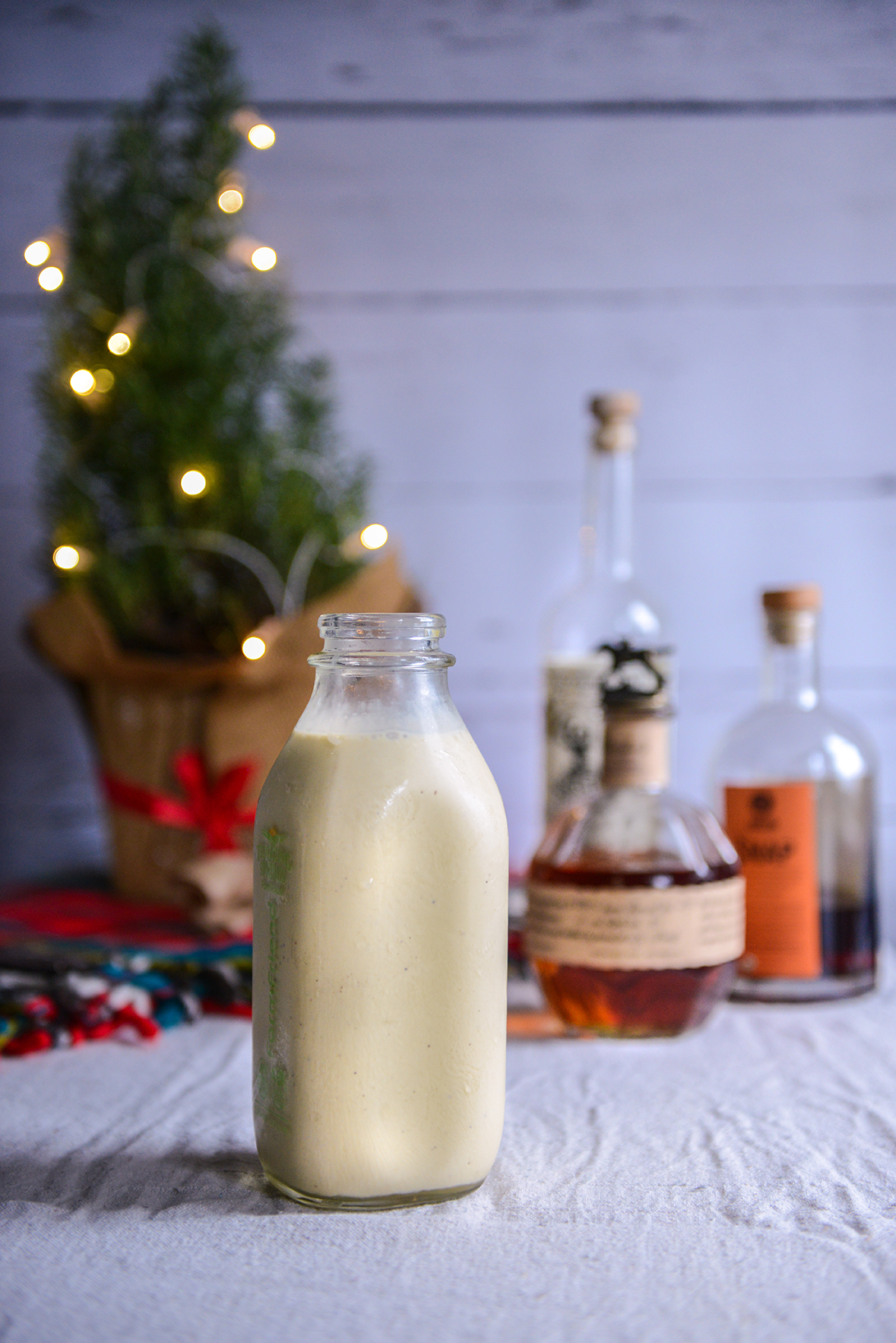 Homemade Eggnog with Coconut Sugar