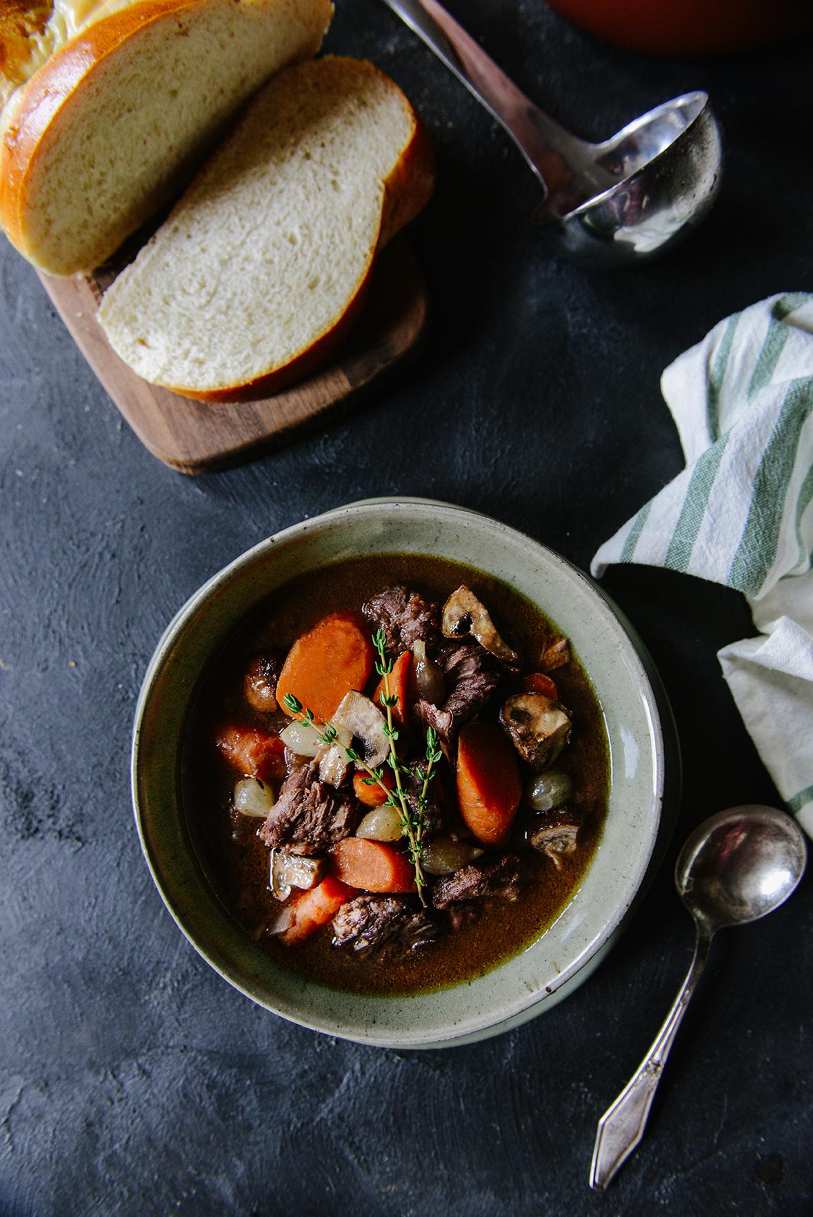 Boeuf Bourguignon: A Comforting Winter Stew