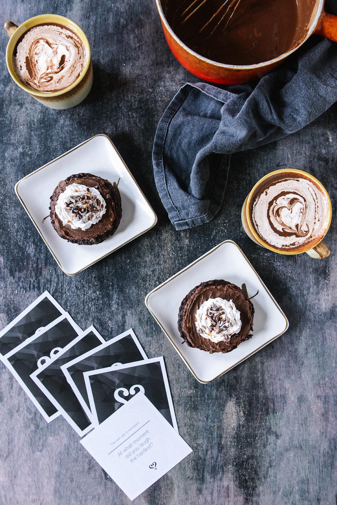 Dark Chocolate Atole {Vegan Sipping Chocolate}