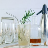 Rosemary Honey Mocktail and Soda Alternative