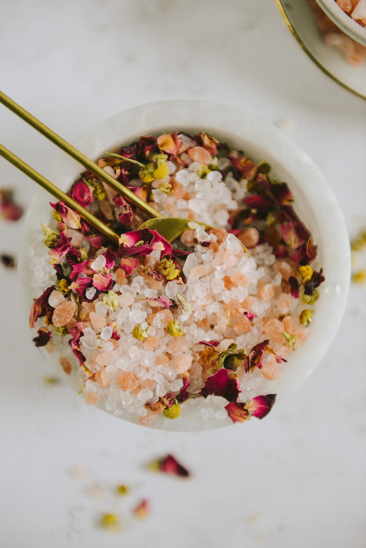 Sea Salt Foot Soak (A Great DIY Gift for Mom!) // www.WithTheGrains.com