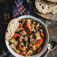 Hearty Guinness Lamb Stew with Root Vegetables