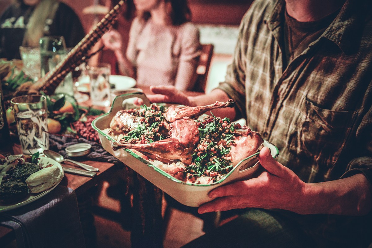 Pheasant Confit for a Wintry Gathering // www.WithTheGrains.com