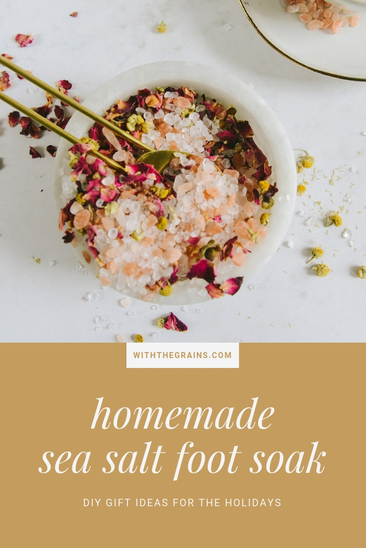 Homemade Gifts for the Holidays // www.WithTheGrains.com