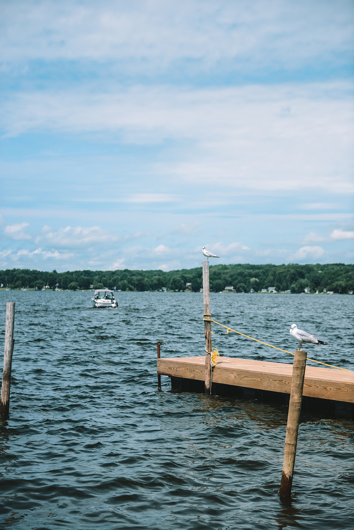 The Village of Bemus Point and Lake Chautauqua // www.WithTheGrains.com