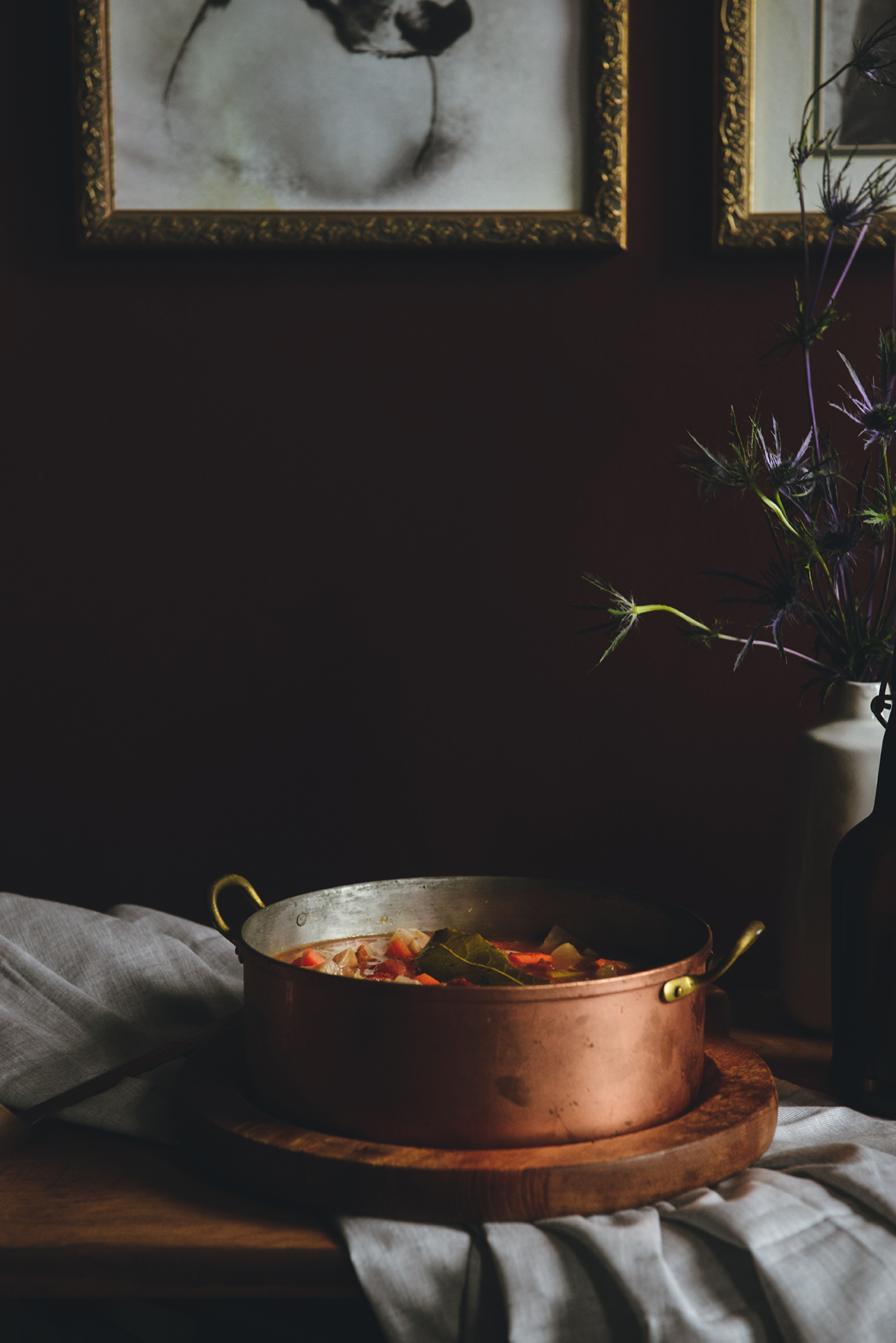 How To Make Soup to Waste Less and Share More // www.WithTheGrains.com