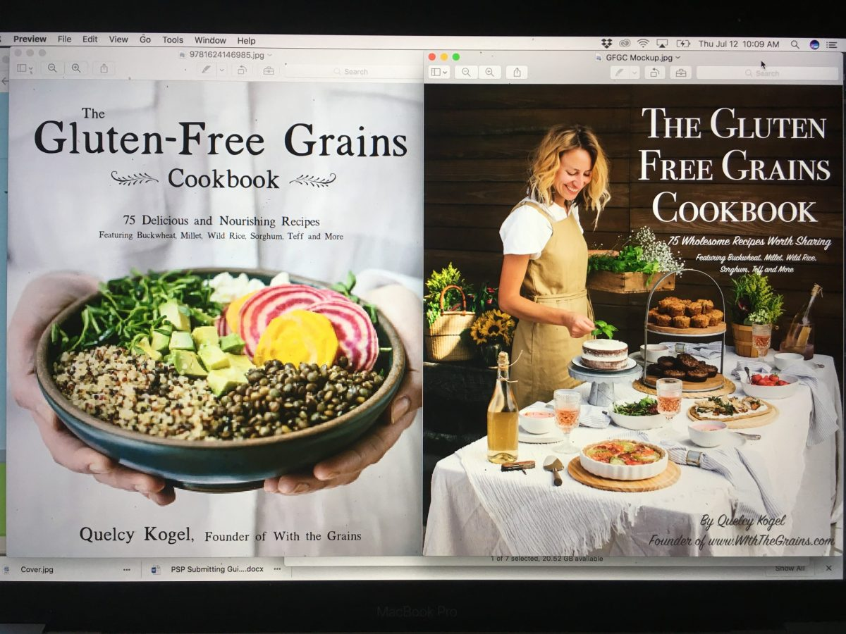 The Making of a Cookbook (My Book is One!) // www.WithTheGrains.com