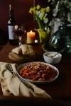 Waste Less: Ripened Tomato Pasta // www.WithTheGrains.com
