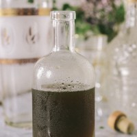 Thyme & Black Pepper Infused Honey Simple Syrup