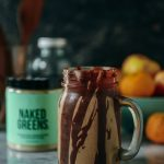 Peanut Butter Smoothie with Naked Greens