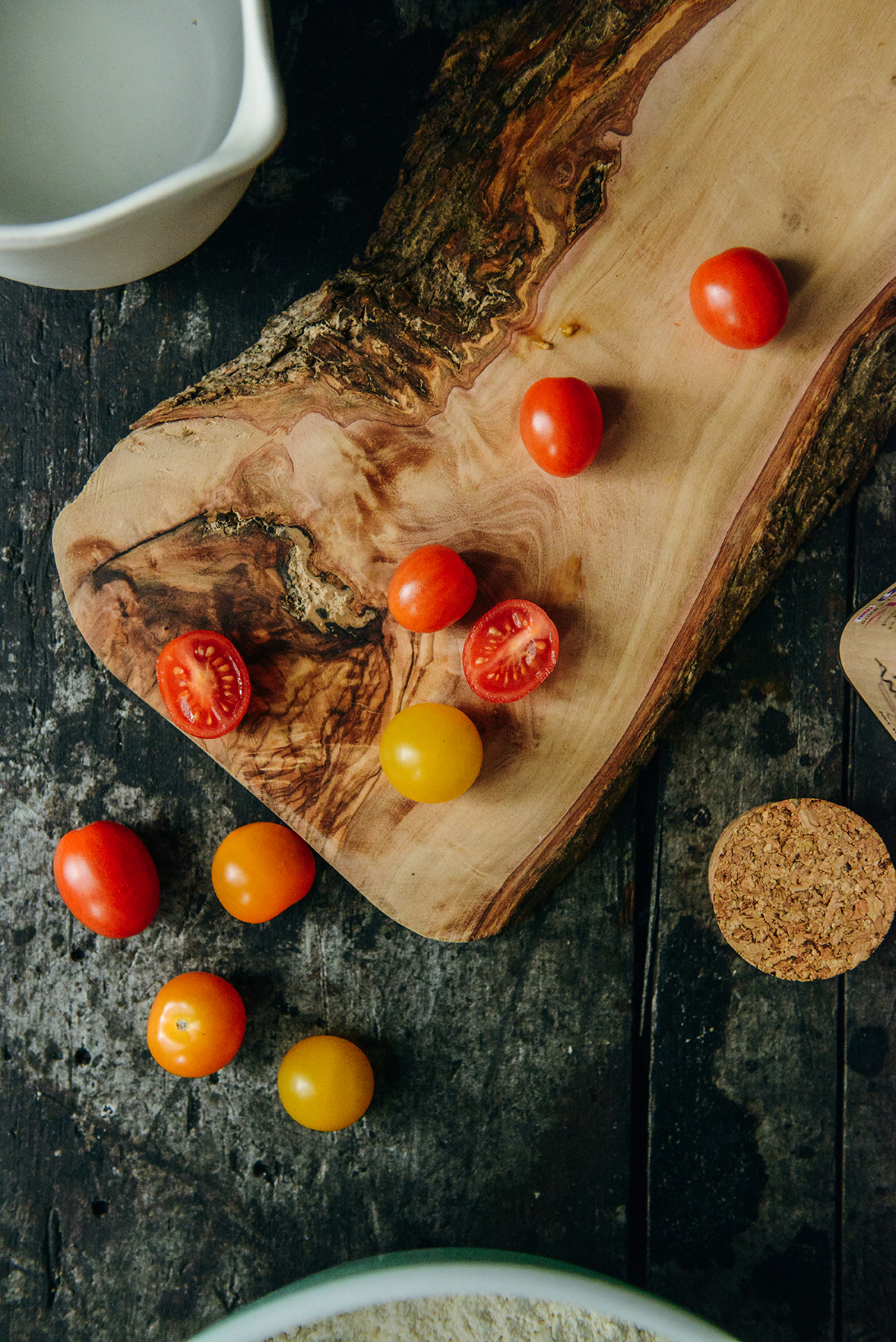 Fresh Tomatoes // www.WithTheGrains.com
