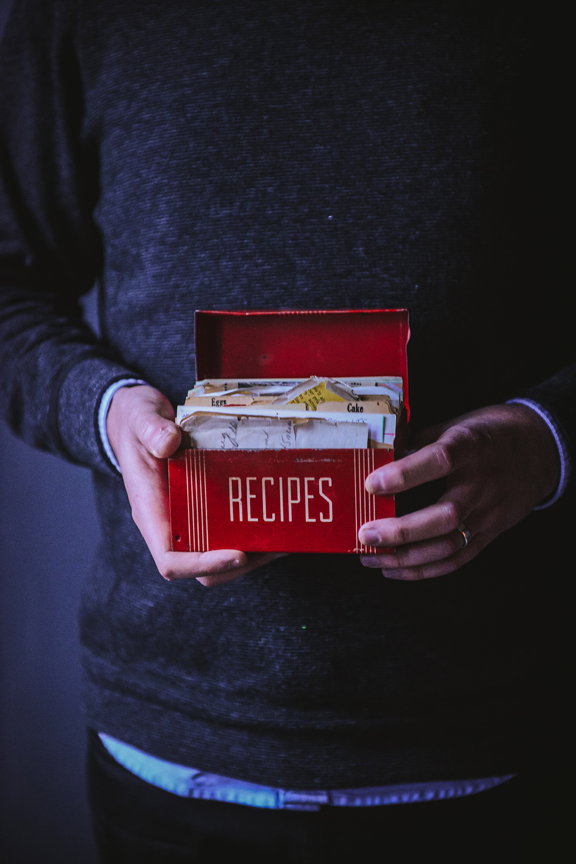 Creating a Family Recipe Collection // www.WithTheGrains.com