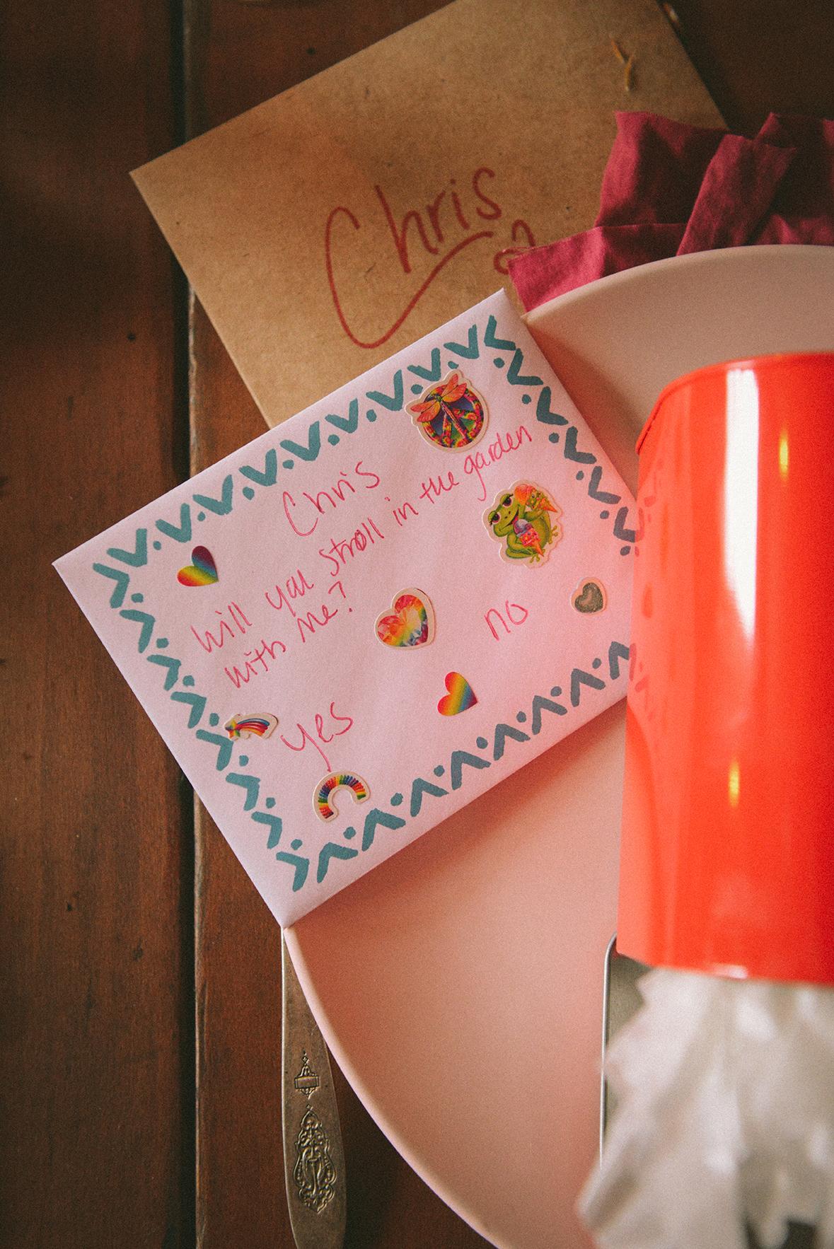 A Valentine's Day Parcel // www.WithTheGrains.com