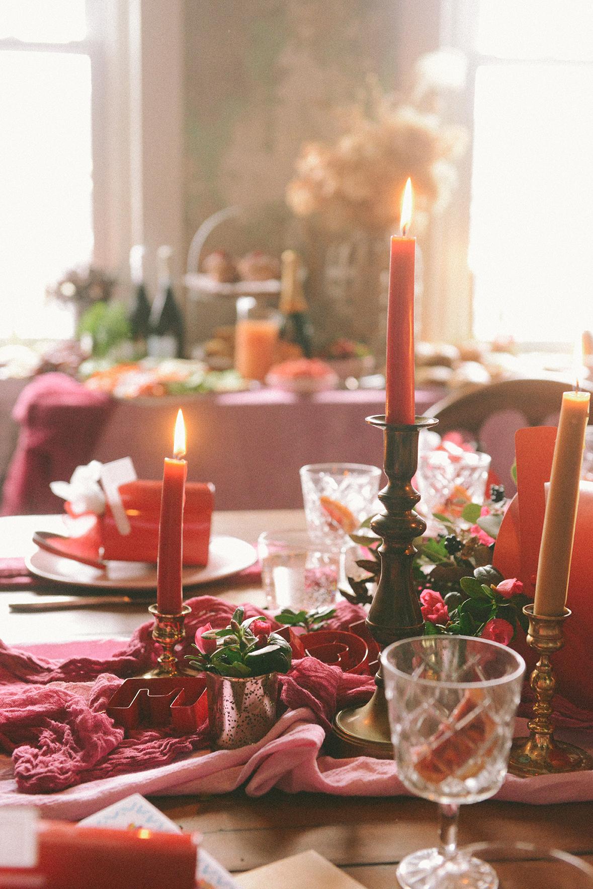Valentine's Day Brunch // www.WithTheGrains.com