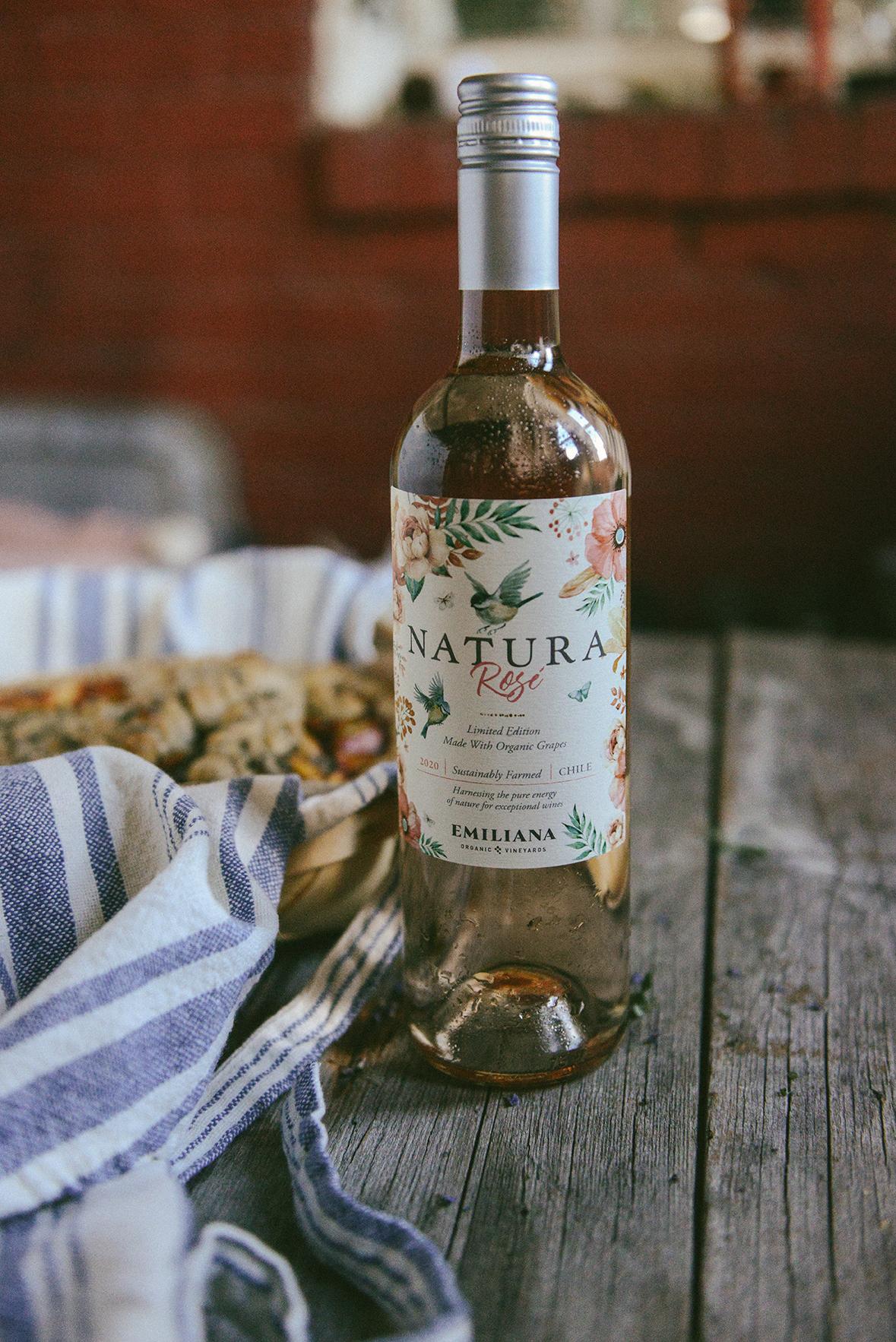 Natural Wine & Summer Pie // www.WithTheGrains.com