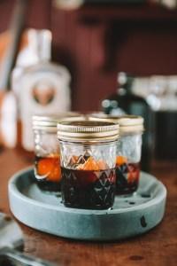 Make Ahead: Amaro Manhattan Cocktails // www.WithTheGrains.com