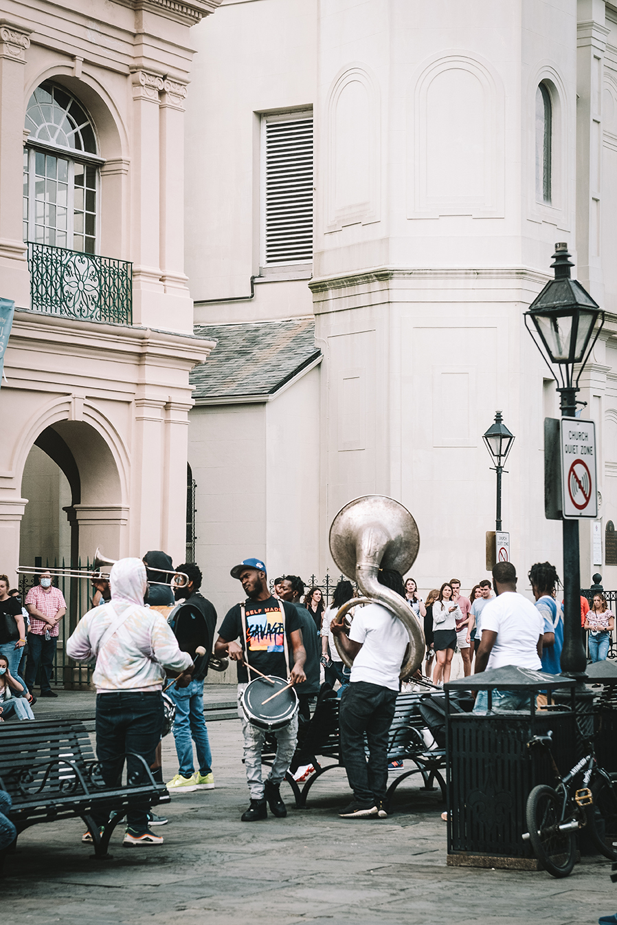 Visit New Orleans // www.WithTheGrains.com