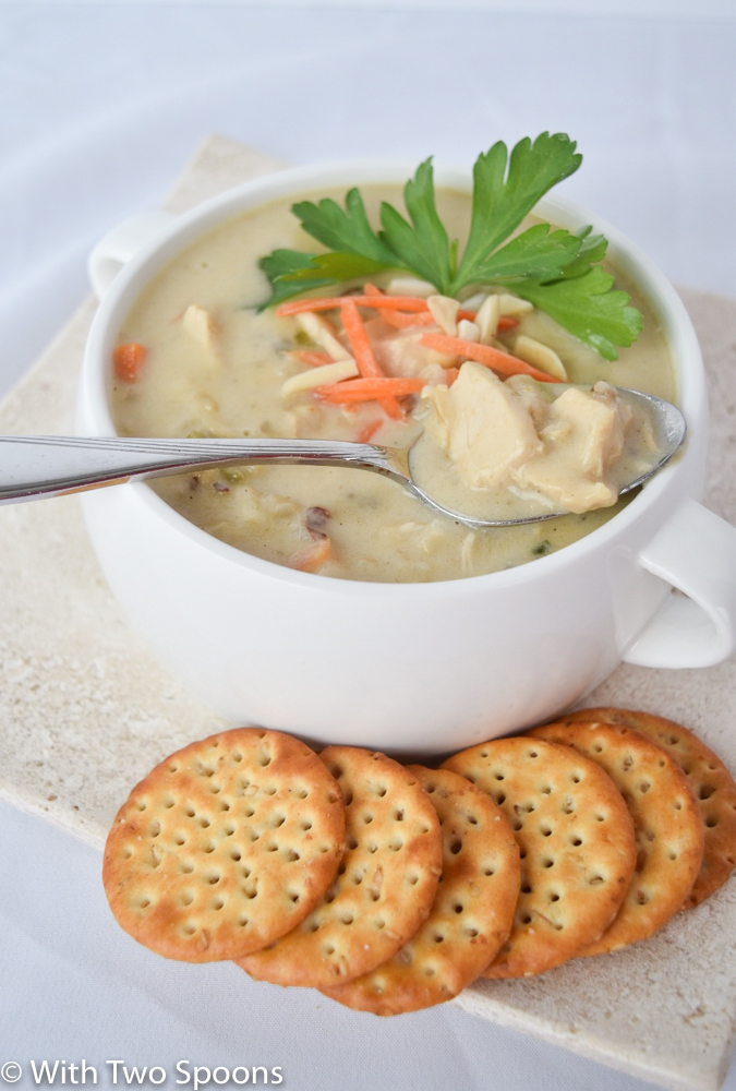 Chicken Wild Rice Soup verticle