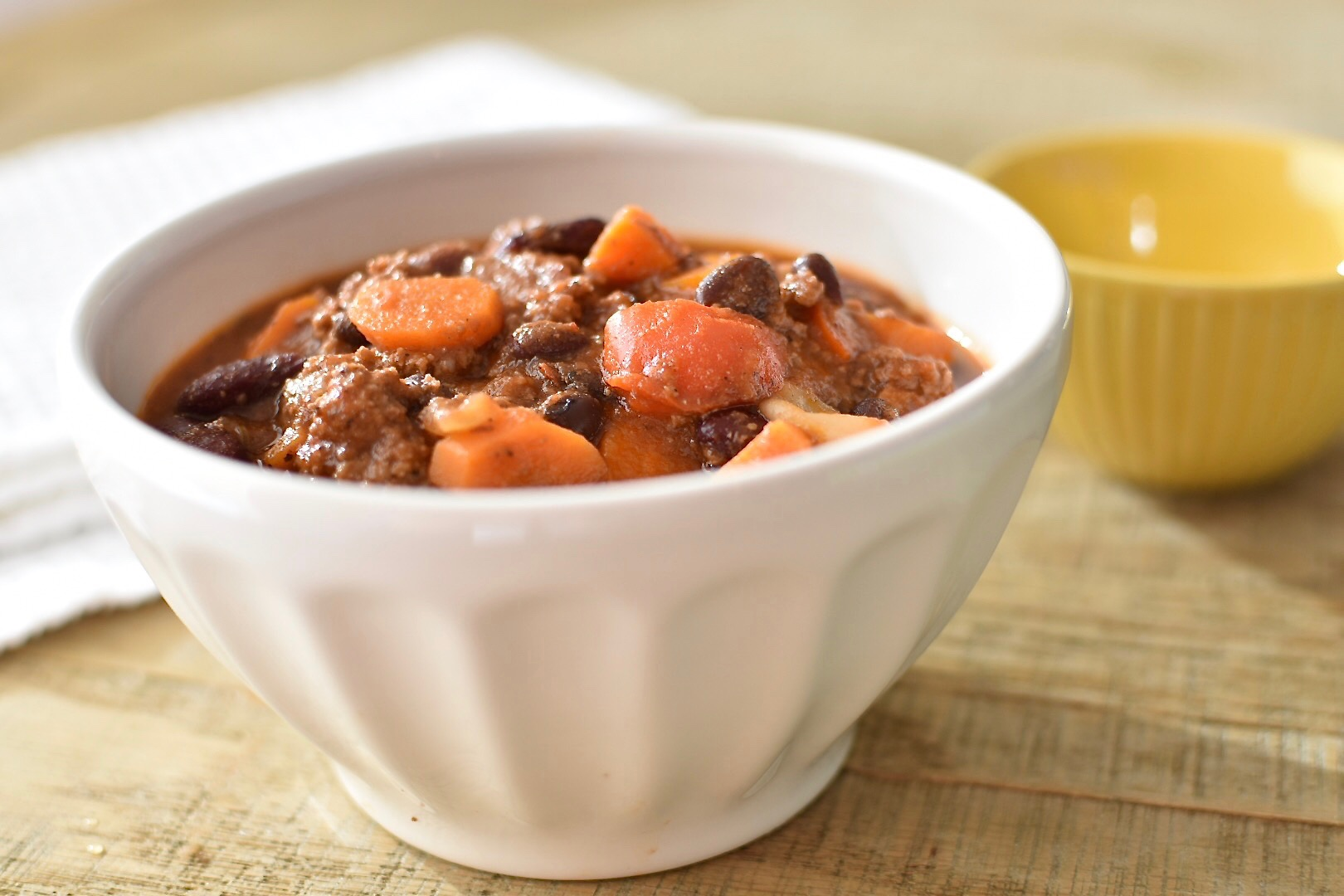 Chipotle And Stout Chili With Two Spoons