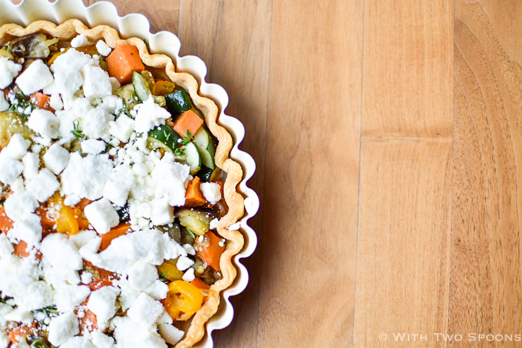 Ottolenghi Vegetable Tart