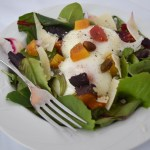 Poached Egg and Beet Salad