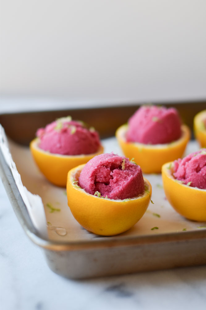 Pomegranate Sorbet