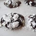 Dark Chocolate Truffle Cookies